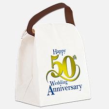 50thAnniversaryLogo2 Canvas Lunch Bag