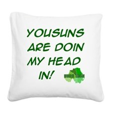 kids-t-shirt-10x10-yousuns Square Canvas Pillow