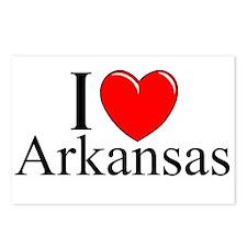 """I Love Arkansas"" Postcards (Package of 8)"