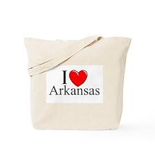 """I Love Arkansas"" Tote Bag"