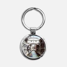 Bridge of Sighs or Ponte Dei Sospir Round Keychain