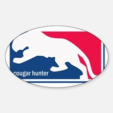 +cougarhunterbright Sticker (Oval)
