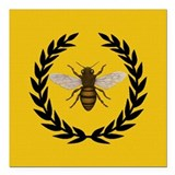 Bee Square Car Magnets
