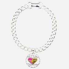 Half of my heart is in A Bracelet