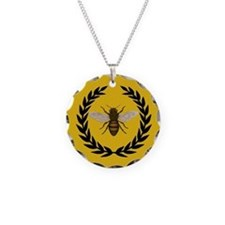 Stylized Bee_Pillow Necklace