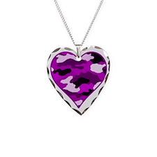 Purple Camo HRT Necklace
