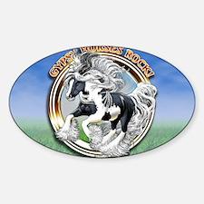 licencegypsyRock Sticker (Oval)