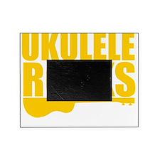 uke ukulele ukelele, ukulele rocks Picture Frame
