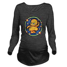 baby-kick-3-T Long Sleeve Maternity T-Shirt