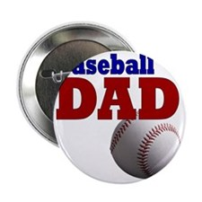 "Baseball Dad 2.25"" Button"