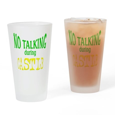 LC16x16notalkingcastle_png Drinking Glass