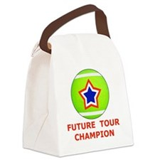 Future Tennis Champion T-Shirts f Canvas Lunch Bag