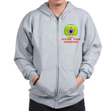 Future Tennis Champion T-Shirts for Kid Zip Hoodie