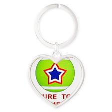 Future Tennis Champion T-Shirts for Heart Keychain