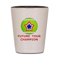 Future Tennis Champion T-Shirts for Kid Shot Glass