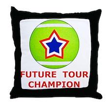 Future Tennis Champion T-Shirts for K Throw Pillow