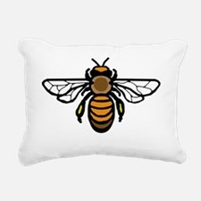 Big Bee Rectangular Canvas Pillow