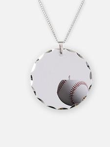 Baseball Dad black tees Necklace
