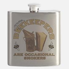 Beekeepers are Smokers Flask