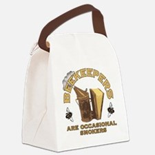 Beekeepers are Smokers Canvas Lunch Bag