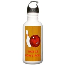 Bowling Theme Itouch2  Water Bottle