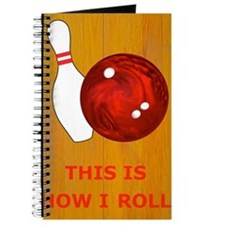 Bowling Theme Itouch2 Itouch4 Ipod Case Journal