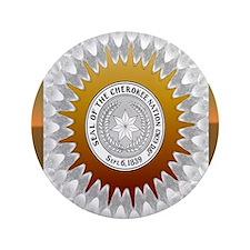 """Cherokee Nation3 3.5"""" Button"""