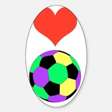 Love Soccer Itouch2 Itouch4 Ipod Ca Decal