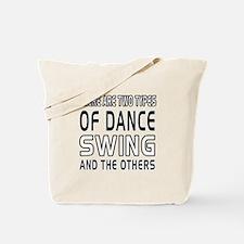Swing Dance Designs Tote Bag