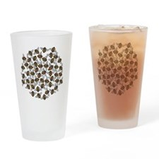 Little Bee Swarm Drinking Glass
