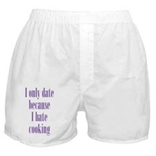 hate_cooking_tall2 Boxer Shorts