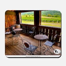 Sharp Rock Vineyards View Mousepad