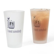 FI Guy_wht Drinking Glass