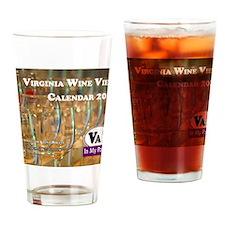 VA Winery Views Calendar Cover Drinking Glass