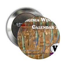 "VA Winery Views Calendar Cover 2.25"" Button"