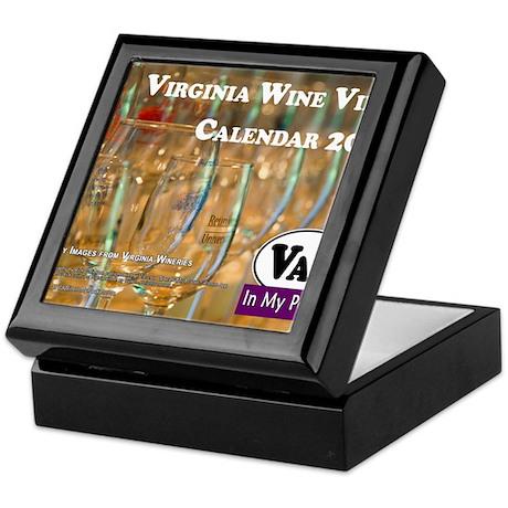 VA Winery Views Calendar Cover Keepsake Box