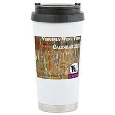 VA Winery Views Calendar Cover Travel Mug