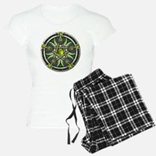 Green Moon Pentacle Pajamas