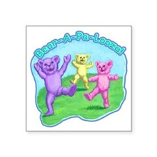 "teddy-bears-kids-tshirt Square Sticker 3"" x 3"""