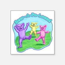 """teddy-bears-kids-tshirt Square Sticker 3"""" x 3"""""""
