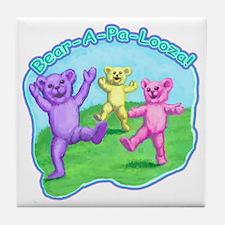 teddy-bears-kids-tshirt Tile Coaster