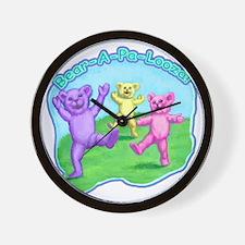 teddy-bears-kids-tshirt Wall Clock