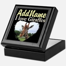 CUTE GIRAFFE Keepsake Box