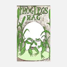 Frog Legs Rag Decal