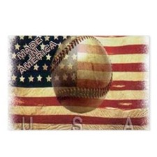 BASEBALL Postcards (Package of 8)