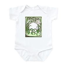 Frog Legs Rag Infant Bodysuit