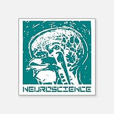 "Neuroscience Square Sticker 3"" x 3"""