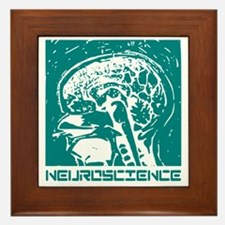 Neuroscience Framed Tile
