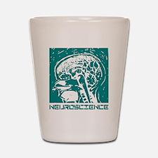 Neuroscience Shot Glass