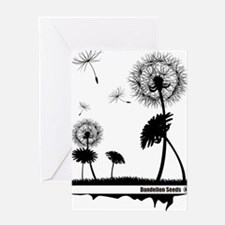 Dandelion Seeds 2 Greeting Card